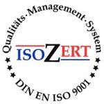 DIN EN ISO 9001 Qualitätssiegel